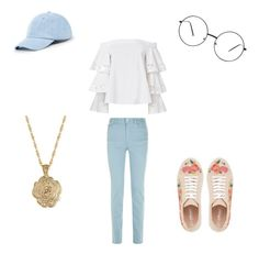"""""""Outfit For Y.A.B. (You Are Beautiful Tour)"""" by parislove-jr on Polyvore featuring Exclusive for Intermix, Armani Jeans, Sole Society and 2028"""