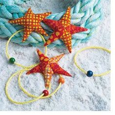 Free Sewing Pattern: Scrappy Starfish Beanbags - Sew Daily