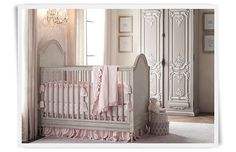 Rooms | Restoration Hardware Baby & Child.  Love the armoire and color palette.