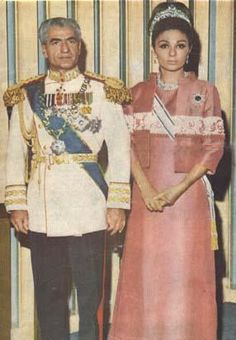 BARON AND QUEEN PAHLAVİ,ROYAL İRAN by Playing By Heart, via Flickr