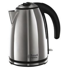 Buy Russell Hobbs Henley Kettle, Polished Stainless Steel from our Kettles range at John Lewis. Hobbs, Kettle, Stainless Steel, John Lewis, Nova, Appliances, 1, Kitchen, Gadgets