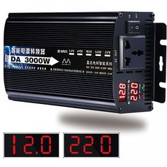 Pure Sine Wave Inverter DC 12v 24v To AC 220v //Price: $38.83 & FREE Shipping // #interiors #friends #food
