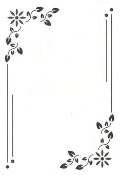 high border design for invitation card and page design Page bo. - high border design for invitation card and page design Page borders design, Borde - Frame Border Design, Boarder Designs, Page Borders Design, Page Design, Border Ideas, Doodle Borders, Borders For Paper, Borders And Frames, Borders Free