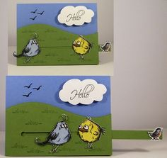Hello, Crazy Birds! by Clownmom - Cards and Paper Crafts at Splitcoaststampers