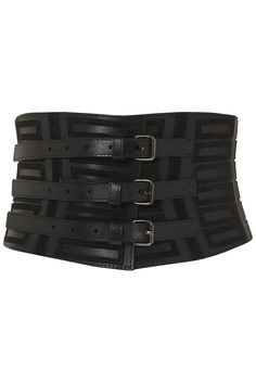 Suede Applique Corset belt... love this! y is everything always SOLD OUT... so FRUSTRATING!