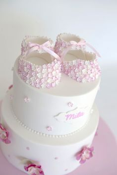 Blossom Booties by Sweet Tiers, via Flickr