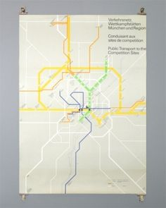 Otl Aicher 1972 Munich Olympics - Posters - Special Series