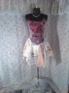 Mori Girl Artsy Top Bohemian Up Cycled Clothing by TatteredFx, $28.00