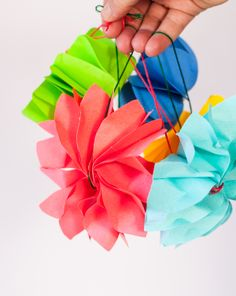 Post-it Notes Christmas Ornaments