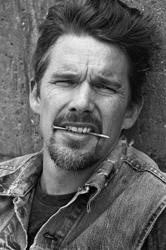 Ethan Hawke Ethan Hawke, Famous Men, Director, Mad Men, Celebrity Crush, We The People, Movie Stars, Actors & Actresses, Sexy Men