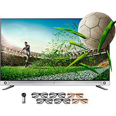 Smart TV 3D LED 65 LG 65LA9650 Ultra HD 4K - 3 HDMI 3 USB 240Hz Wi-fi + 4 Óculos 3D + 2 Óculos Dual Play + Controle Smart Magic Frequência (960Hz))