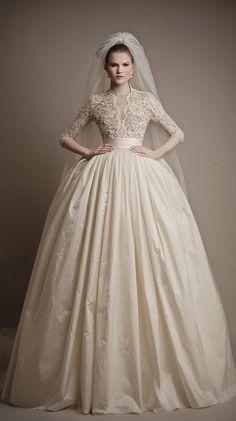 Fit for a queen ~ Ersa Atelier 2015 Bridal Collection   bellethemagazine.com