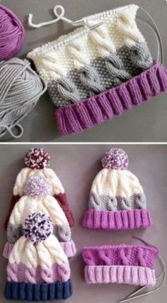 Baby Knitting Patterns, Crochet Patterns, Crochet Tutorials, Blanket Patterns, Crochet Ideas, Crochet Baby, Knit Crochet, Free Crochet, Headband Crochet