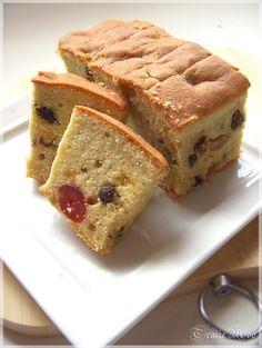 Butter Fruit Cake
