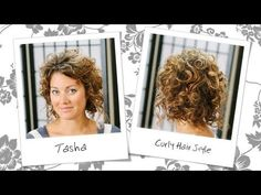 Re-Curling Natural Curls - Curly Hair Style Tutorial (+playlist)