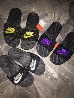 reputable site a359d b70a7 9 Best Shop Our Pins! images   Nike slippers, Nike slides, Selling ...