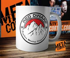 Red Dwarf - Jupiter Mining Corporation Mug