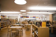 CASD: Lamberton Middle School Library   #CapriCork #Mediterra Melange   #spartansurfaces #RapidlyRenewable #Floorscore