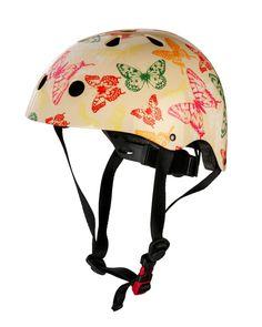 KiddimotoButterfly Yellow Helmet $59.95 http://www.cyclestyle.com.au/product/kiddimoto-butterfly-yellow/