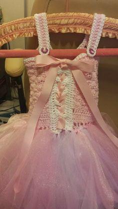 FREE Fairy Princess Crochet TUTU DRESS PATTERN!   http://happyheartfiberart.blogspot.com/