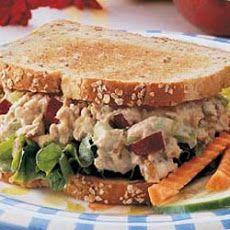 Apple Tuna Sandwich Recipe