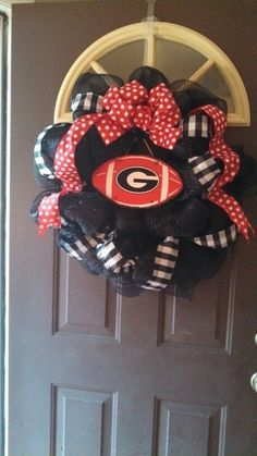 UGA wreath