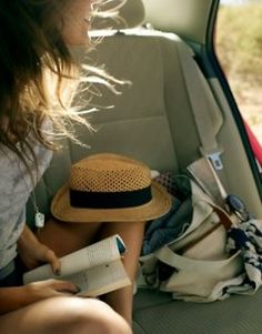 Roadtripping with a good book