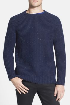 Obey  Deering  Wool Blend Crewneck Sweater by Obey on  nordstrom rack Crew  Neck 9df32f5fa8b2d