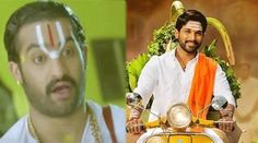 ntr shocked with allu arjun