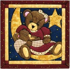 Momma and Baby Bear Quilt Magic Kit