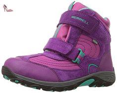 Merrell - Moab Polar Mid WTPF - Chaussure de randonnée - Montante - Fille - Rose - 29 EU - Chaussures merrell (*Partner-Link)