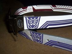 TRANSFORMERS GRAPHIC BELT SIZE L/XL 38-42 NEW SPENCERS BIOWORLD HASBRO #Bioworld #GRAPHICBELTFashionBelt