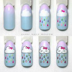 Unicorn Nails Designs, Unicorn Nail Art, Heart Nail Designs, Cute Nail Art Designs, Nail Extensions Acrylic, Nail Desighns, Matte Pink Nails, Really Cute Nails, Tribal Nails