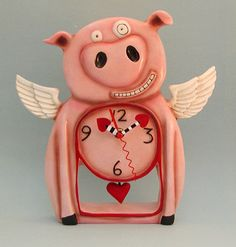 Piggy Clock...