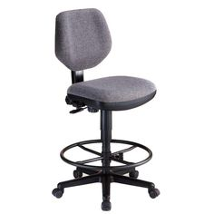 Alvin Comfort Deluxe Drafting Chair Medium Gray - CH290-60