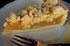 Apfelmus – Vanillepudding – Kuchen, ein schönes Rezept aus der Kategorie Frucht… Applesauce – vanilla pudding – cake, a nice recipe from the category fruit. Ratings: Average: Ø Fruit cake Apple sauce – custard – cake Vanilla Pudding Cake, Custard Cake, Pudding Vanille, Apple Custard, Custard Pudding, Apple Pie, Food Cakes, Quick Dessert Recipes, Quick Recipes
