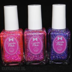 Cupcake Polish Like, Love and Lust