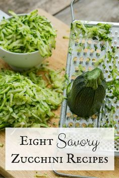 Incorporate zucchini