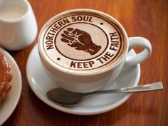 Now the Northern Soul crowd are all middle aged, the Northern Soul Cappuccino is the only way to get them through an all nighter.