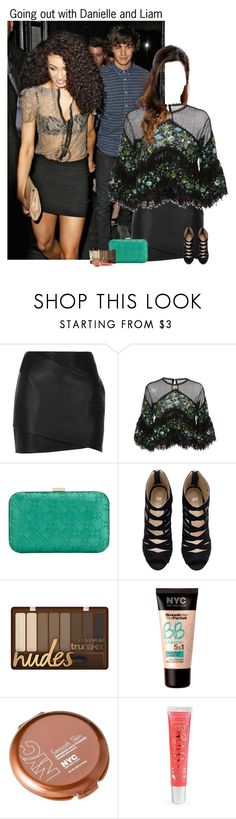 """Going out with Danielle and Liam"" by kateremington-1 ❤ liked on Polyvore featuring River Island, Costarellos, John Lewis, H&M, NYC New York Color and Aéropostale"