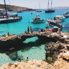 Comino The blue lagoon Malta travel