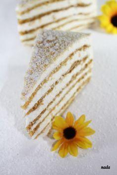 russian honey cake.