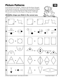 Printables Gifted And Talented Worksheets visual discrimination olsat nnat pinterest critical thinking worksheets third grade uncategorized