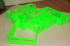 This is a full to scale 3d print of a home I had designed for school. All pieces were printed out and then assembled. This allows you to see the design in person rather than through a 3d model or rendering.