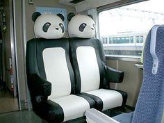 JR西日本「特急くろしお」 : Panda seats