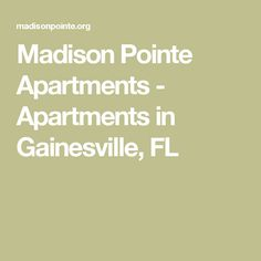 Madison Pointe Apartments   Apartments In Gainesville, FL