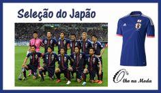 Uniforme da Seleção do Grupo C - Copa 2014...Brasil  ...@olho_moda