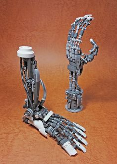 LEGO Mech Limbs-02 by ToyForce 120 http://flic.kr/p/TnAaVp