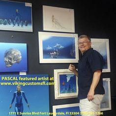 Painter Artist, Artwork Display, Fort Lauderdale, Exhibitions, Chopper, Harley Davidson, Sunrise, Thankful, Shop