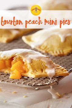 These fresh mini bourbon peach pies are the perfect summer treat.